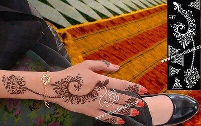 Henna Mehndi Stickers : Mandala gold tattoo traditional indian art henna golden