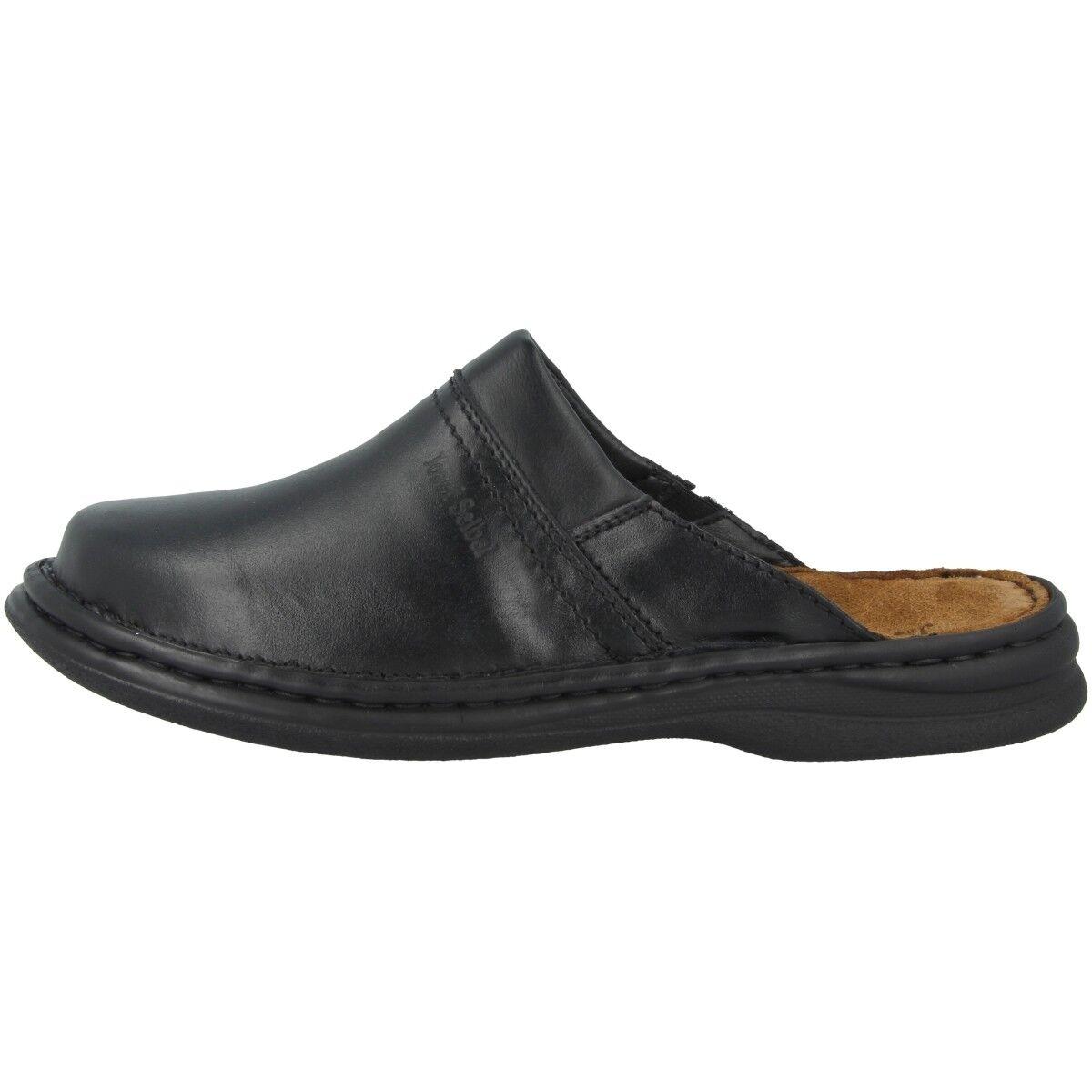 Josef Seibel Max Mulas Zapatos Zuecos Mulas Max Mocasines Zapatillas Negro 10663-37-600 c8e2ef