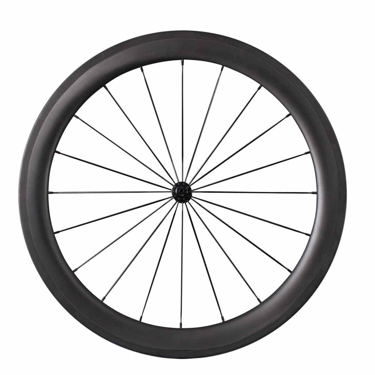 Carbon Road Bike Bicycle Racing  Wheels 60mm+88mm Tubular Carbon Wheels  no tax