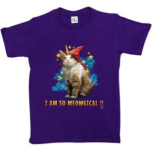 1Tee Girls Call Me Unicorn Cat Sweatshirt Jumper