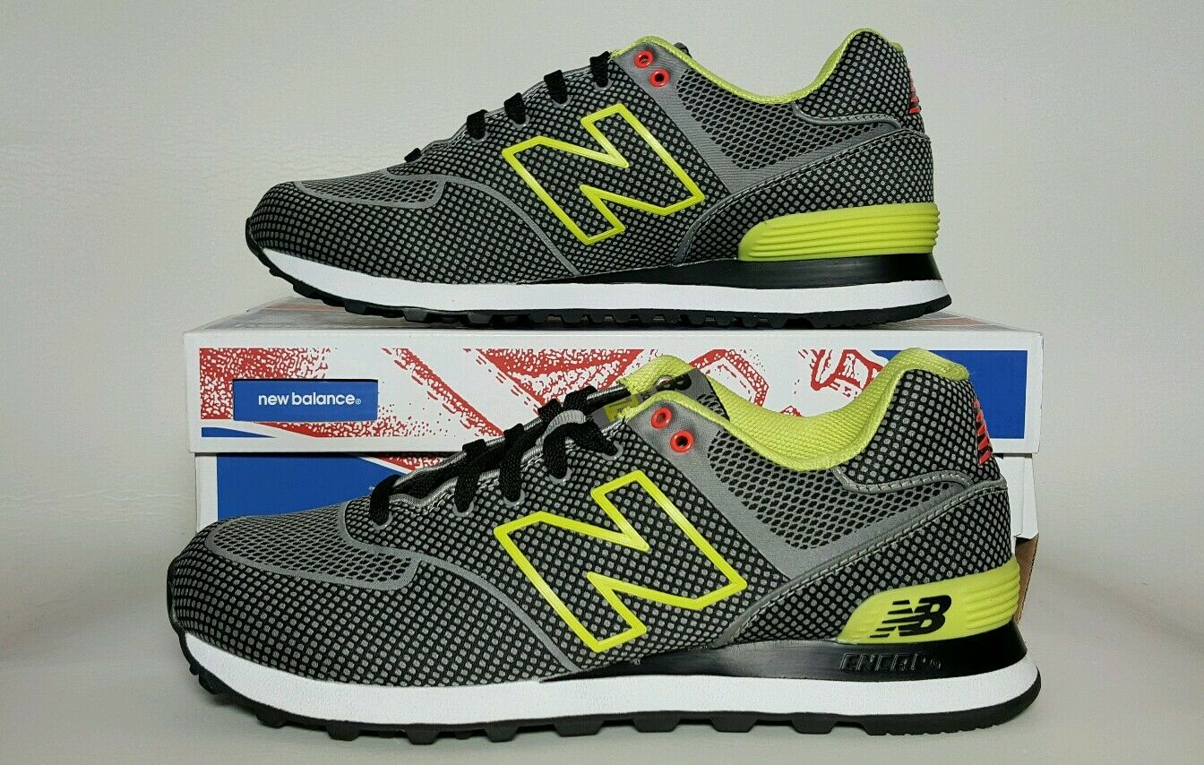 NEW BALANCE MEN'S RUNNING ML574GY NEW IN BOX MULTIPLE SIZES   ENCAP INSOLE
