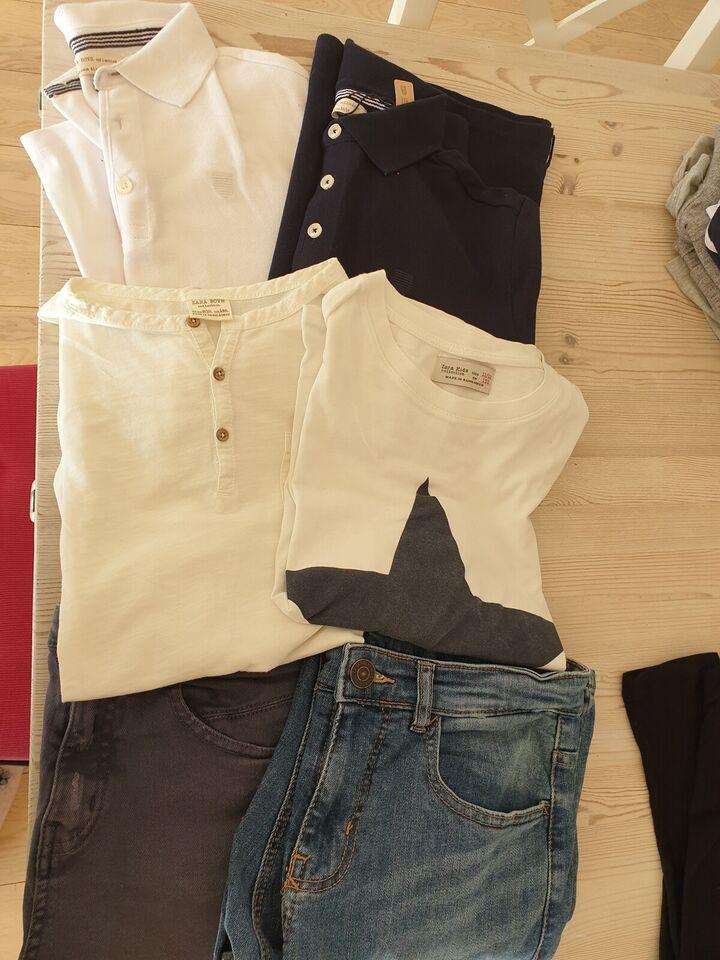 Blandet tøj, Bukser, bluser