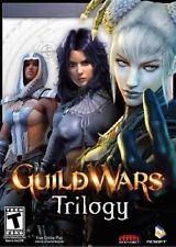 Guild Wars Trilogy  PC CD KEY Prophecies Factions Nightfall