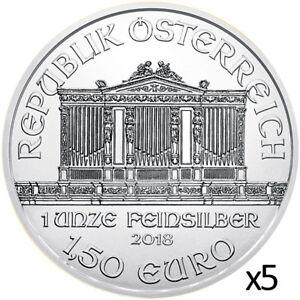 5-x-1-oz-2018-Silver-Philharmonic-999-Silver-Coin-Austrian-Mint
