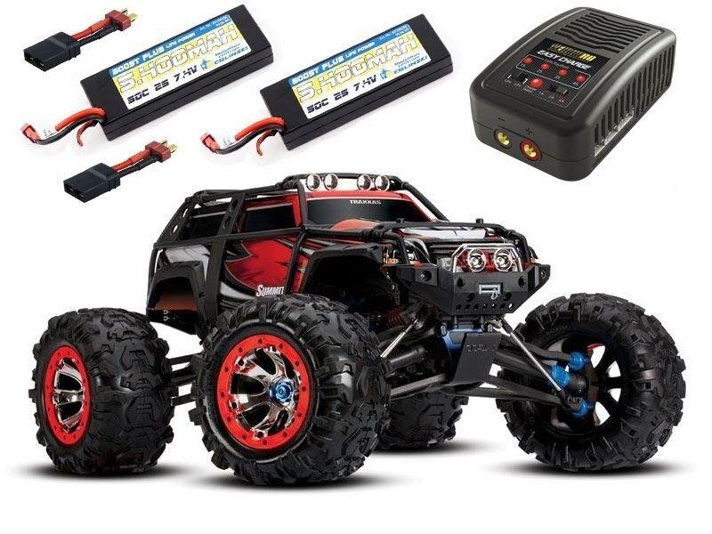 TRAXXAS summit 1 8 Crawler 2.4ghz  TQI + 2x2s LiPo e autoicabatteria - 56076-4set1  sconto online di vendita