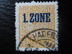 SCHLESWIG-GERMAN-PLEBISCITES-Mi-21-used-stamp-CV-12-00