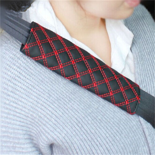 2Pcs Car Safety Seat Belt Shoulder Pads Cover Cushion Harness Pad ProtectorOCL