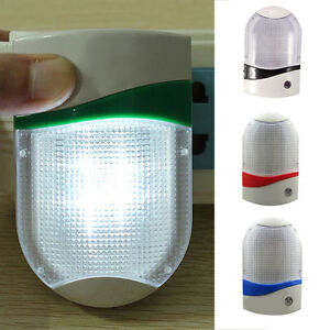 schlafzimmer us stecker lampensteuerung sensor wand led nachtlicht lampe ebay. Black Bedroom Furniture Sets. Home Design Ideas