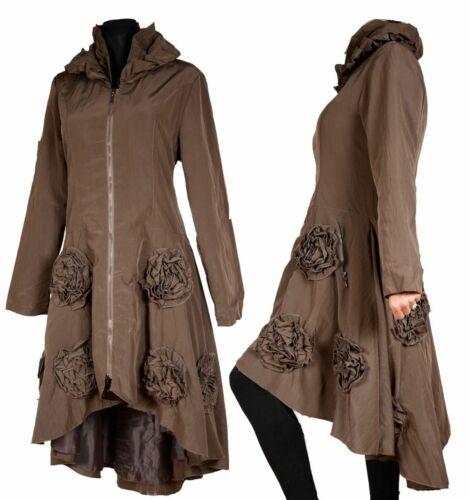 Lagenlook cappotto caldo rivestimento interno transizione 40 42 44 46 48 50 M L XL XXL Inverno