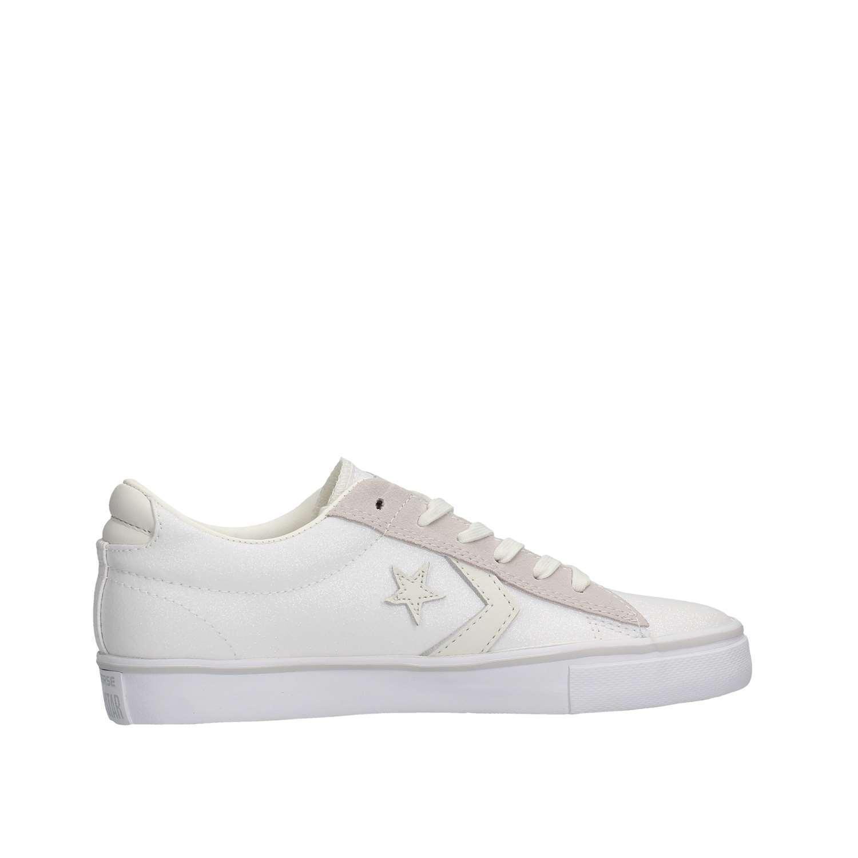 CONVERSE Pro Leather Vulc Ox 560970C  e - sneakers in pelle e  suede bianco grigio 86abe3
