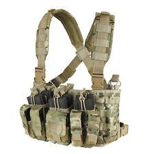 Condor MULTICAM MCR5 MOLLE 5.56 .223 Mag Holster Rapid Assault Chest Rig Vest