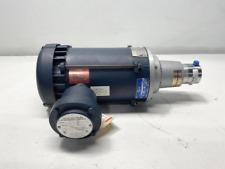 Micropump Stainless Magnetic Drive Gear Pump Gc M25pdse N3 Leeson 12hp Motor