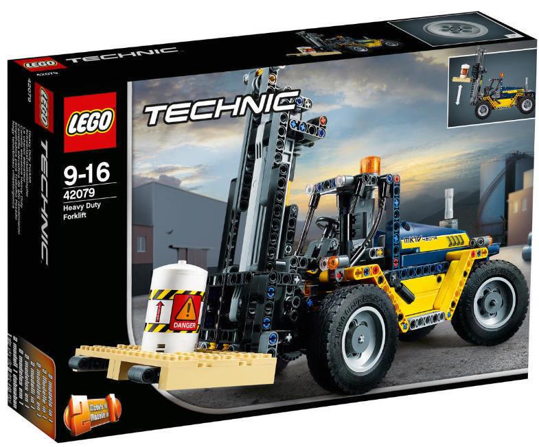 NOUVEAU & NEUF dans sa boîte LEGO ® Technic  42079 poids lourds chariots élévateurs modèle 2-in-1 NOUVEAU & NEUF dans sa boîte  articles de nouveauté