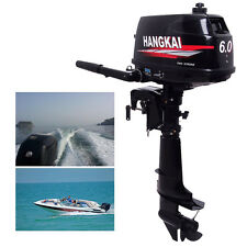 SALE Outboard Motor Fishing Boat Engine Inflatable Water Cooling System 2 Stroke