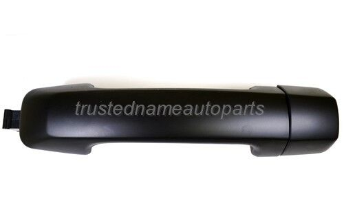 for Toyota Outside Exterior Door Handle Primed Black Driver Side Rear