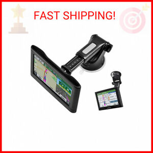 GPS Suction Cup Mount for Garmin [Quick Extension Arm], Replacement GPS Dash …