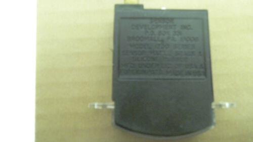 Sensor Development Inc model 1200 pressure gauge 0 to 60 PSI used USA made