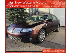 2009 Lincoln MKS AWD/ NAVI/ Remote starter/