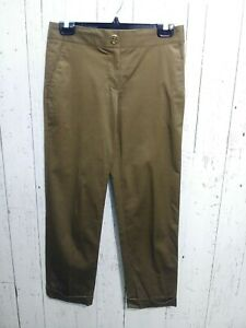 Tory-Burch-Pants-Brown-Size-4