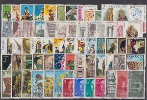ESPANA-ANO-1974-COMPLETO-NUEVO-SIN-FIJASELLOS-MNH-EDIFIL-2167-2231-SPANIEN