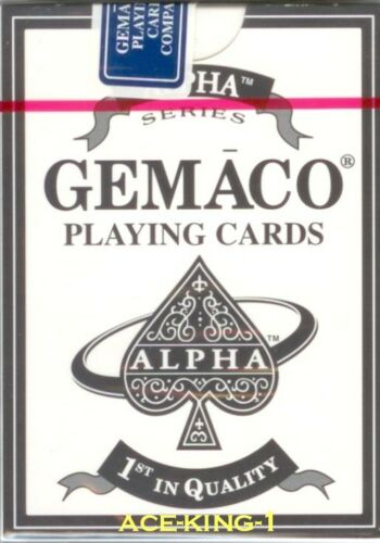 1 NEW decks Gemaco Casino Playing Cards Standard Index