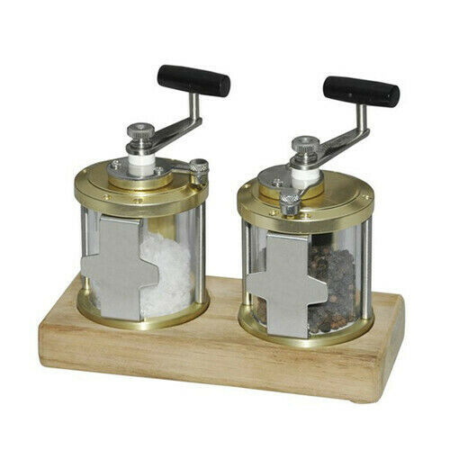High Quality Delightful Table Accessories Grinder Salt//Pepper Fishing Reel Style