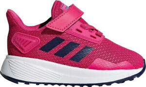 Details about Adidas Infants Girls Shoes Running Kids Duramo 9 Training Trainers F35108 New