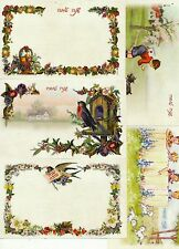 ISRAEL 2014 NEW YEAR CARDS  SET OF 5 WITH THE NEW LOGO PRE-PAID ENVELOPES