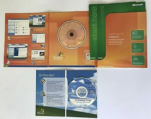 MICROSOFT WINDOWS XP Home Edition Software CD w/ Product ...