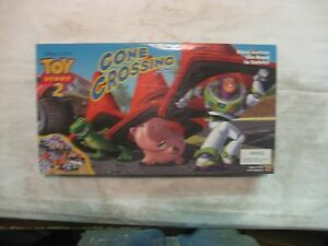 Disney-039-s-Pixar-Toy-Story-2-Cone-Crossing-Board-Game-From-Mattel-gm18