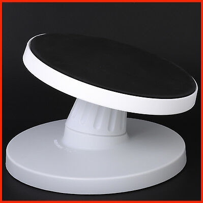 Quality 24cm Tilting Rotating NonSlip Turntable Icing Cake Decoration Sugarcraft