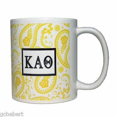 Kappa Alpha Theta, ΚΑΘ, Cup W/ Greek Letters & Graphic Design In ΚΑΘ Colors
