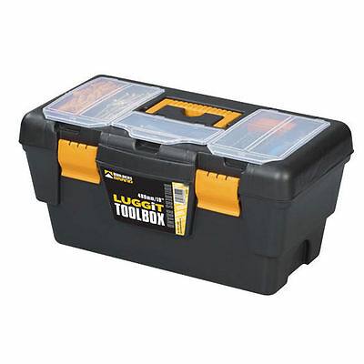 DIY Tool Box - Plastic Storage Case inc Tray - Orgainser Box Tools Equipment 18