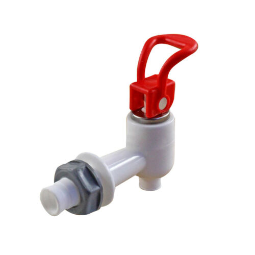 Universal Size Push Type Plastic Water Dispenser Faucet Tap Replacement 1PC New