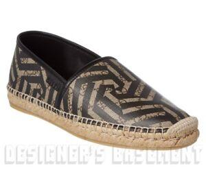 54827f2a4 GUCCI mens 8 CALEIDO GG Supreme canvas ALEJANDRO espadrille shoes ...