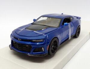1-24-Maisto-escala-31512-2017-Chevrolet-Camaro-ZL1-Azul