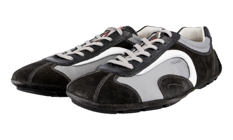 shoes PRADA LUSSO 4E1165 ACCIAIO EMATITE NUOVE 6 40 40,5