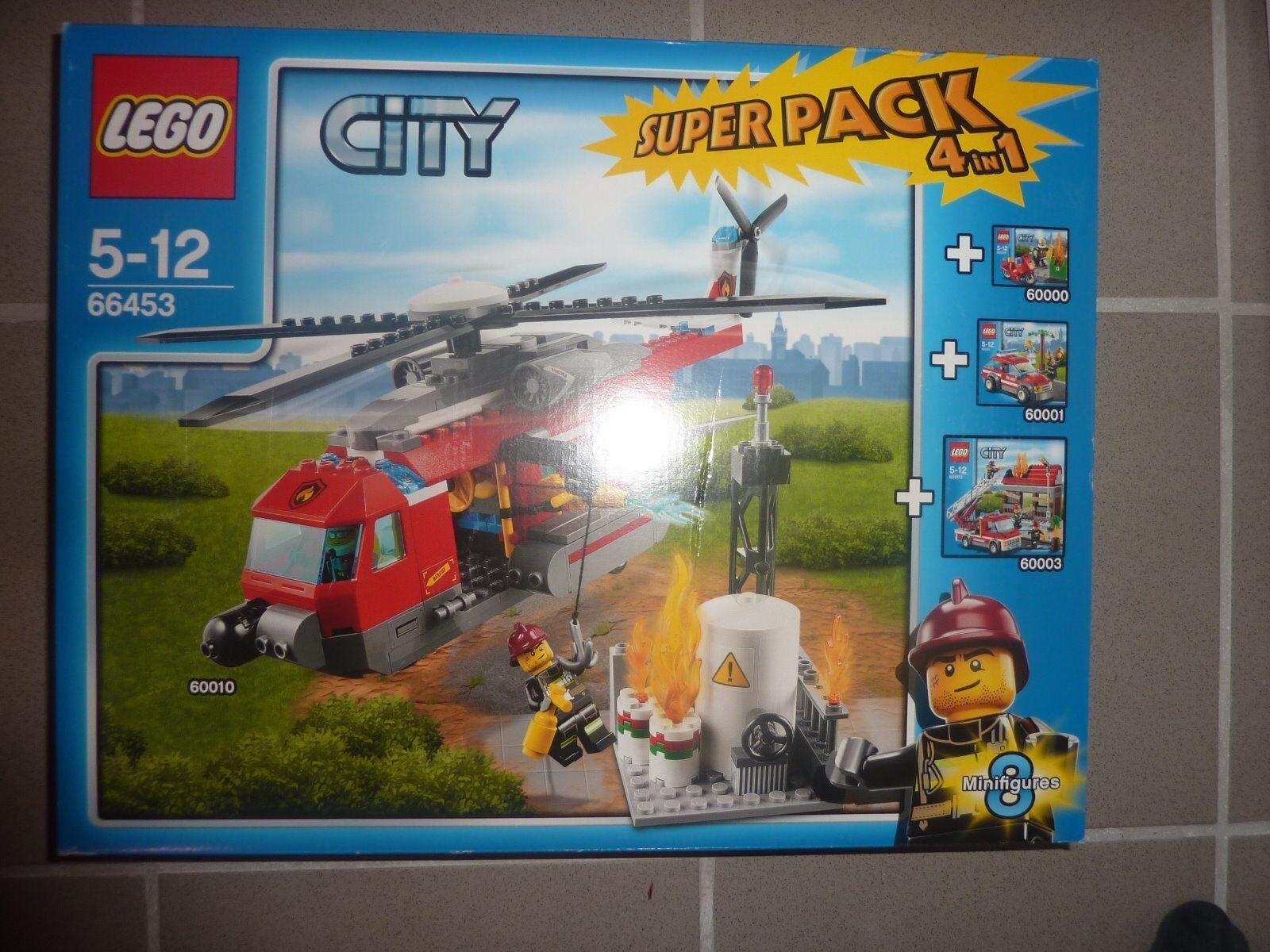 LEGO® City 66453 - Feuerwehr Super Pack 4 4 4 in 1  - NEU - ungeöffnet f55c9b
