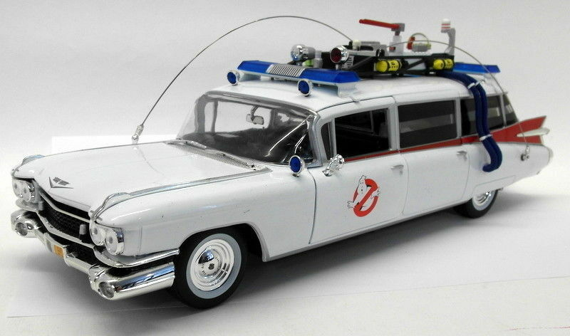 Ertl 1 18 Scale diecast AWSS118 06 1959 illac ECTO-1 Ghostbusters + Slimer