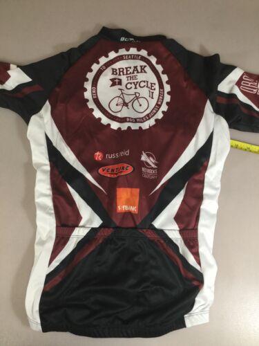 6910-110 Borah Teamwear Mens Size Small S Cycling Jersey