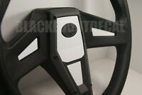 Polaris Rzr 1000 Xp White Carbon Fiber Steering Wheel Inlay Decal Kit Xp1k