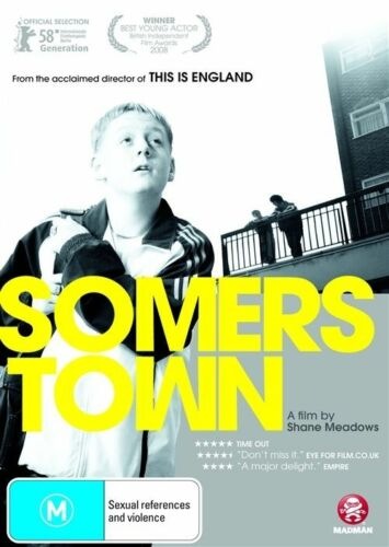 1 of 1 - Somers Town (DVD, 2009) 'NEW & SEALED'