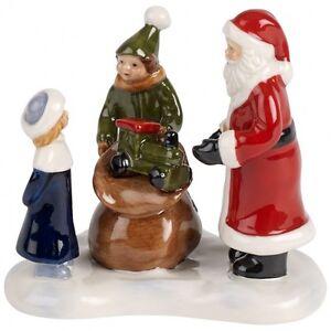 Villeroy & Boch NOSTALGIC CHRISTMAS MARKET Santa\'s Gifts #5840 | eBay