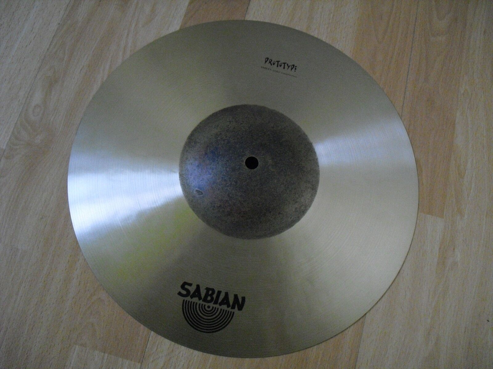 14  Sabian HHX Prototype Meet the Masters HiHat Hi Hat Top Cymbal 645g Light