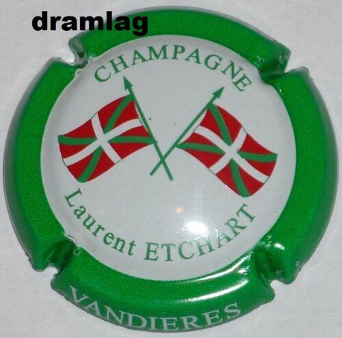 n°29 Capsule de Champagne: Rare !! contour vert ETCHART Laurent