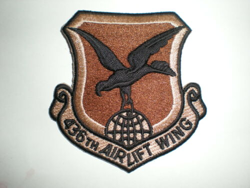 USAF 436TH AIRLIFT WING PATCH DESERT