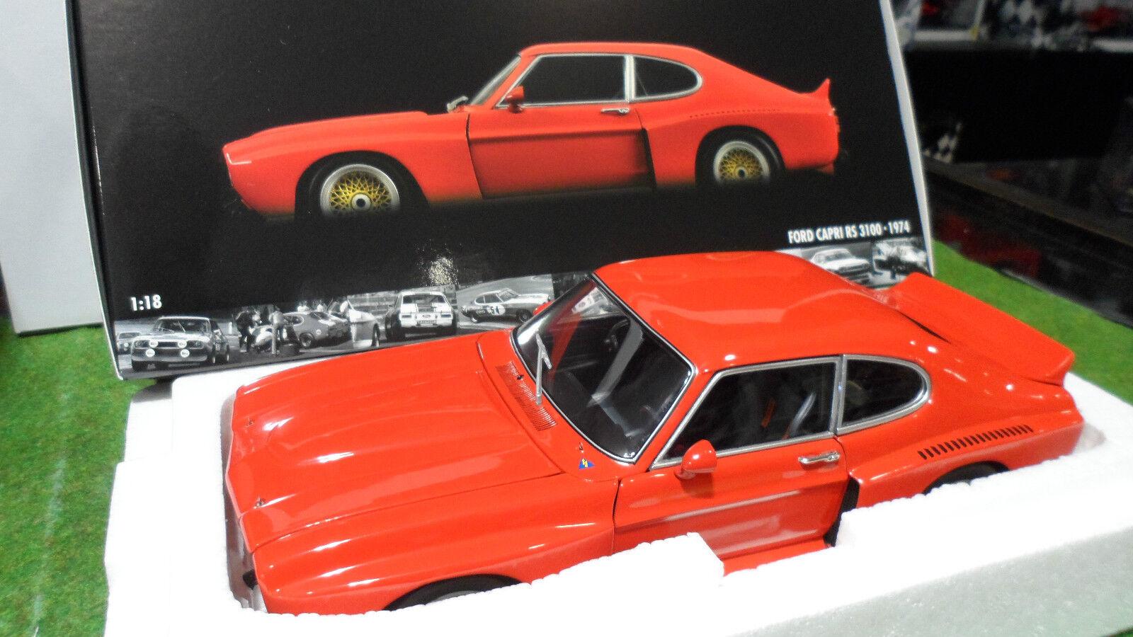 Tienda de moda y compras online. FORD FORD FORD CAPRI RS 3100 1974 1 18 MINICHAMPS 180748001 voiture miniature d collection  precios bajos