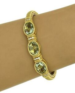 JUDITH-RIPKA-18K-DIAMONDS-LEMON-CITRINE-BANGLE-BRACELET