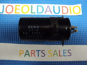 Pioneer-SX-525-Capacitor-63V-3300UF-Tested-Read-More-Below-Parting-Out-SX-525