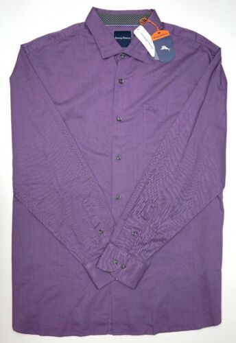 Details about  /NWT $135 Tommy Bahama Long Sleeve Purple Shirt Mens Button Down NEW